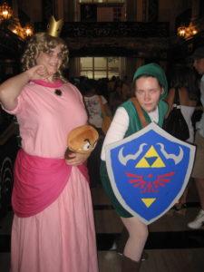 Princess Peach and Link