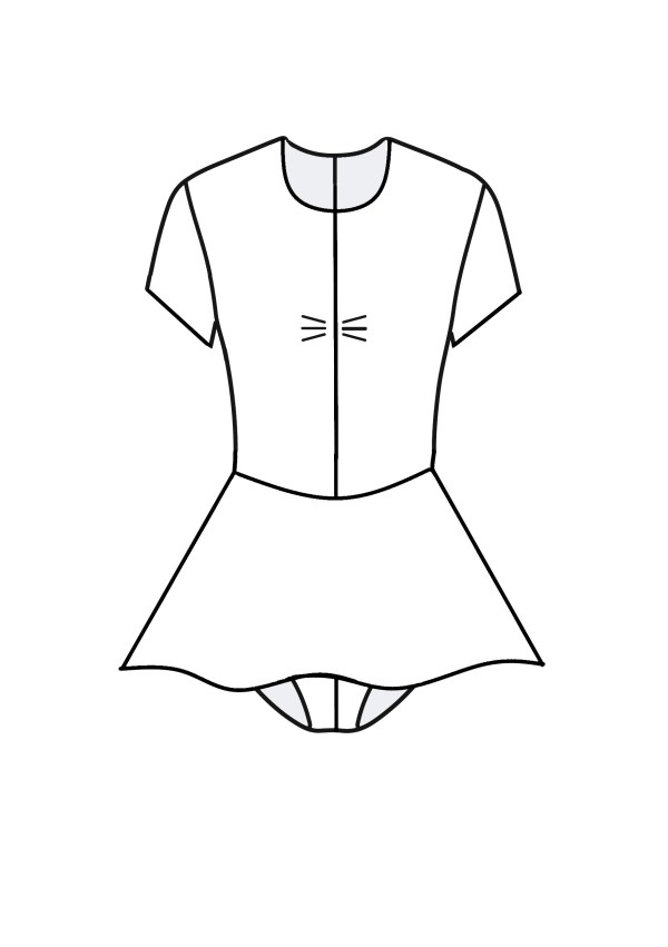 DD Primary dress front view