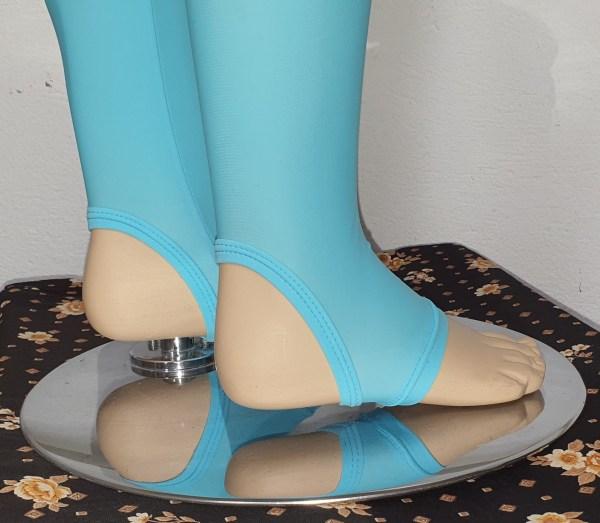 Close up shot stirrup heel detail