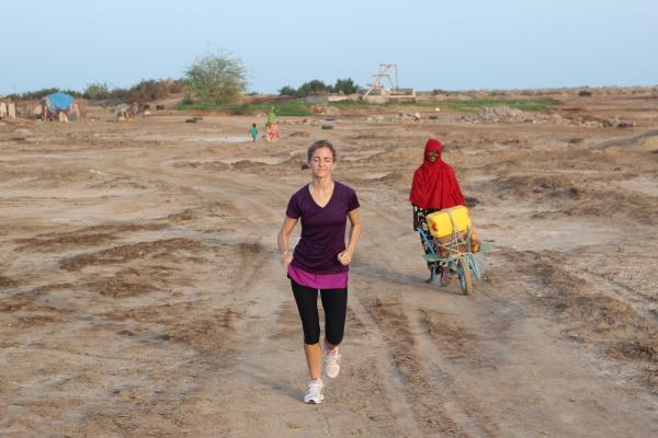 Running djibouti