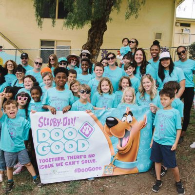 Give Back + DOO GOOD with your kids in your community and Scooby-Doo + GeneratiOn