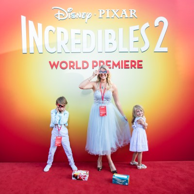 Our Incredible Time at the Incredibles 2 Premiere!
