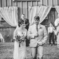 Lauren & James' Rustic Wedding