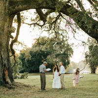 Anna & Chris' Sunset Vow Renewal