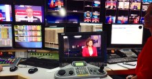 ABC News 24 control room