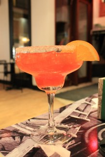 Tequila Lounge - Margarita fraise-licthi - Hungry Rachel