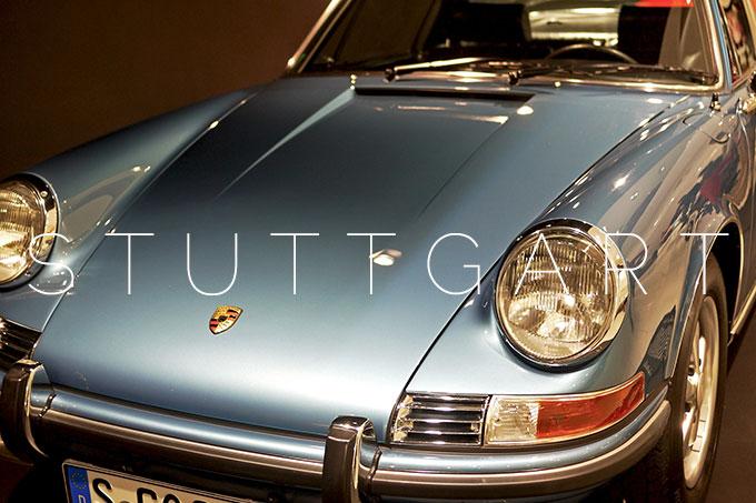 Stuttgart: Porsche museum