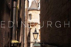 Edinburgh: Around town #1