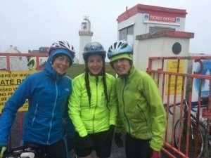 Myself, Sinead and Linda arriving at the Lighthouse