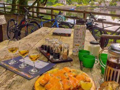 Picnic Belleek, Whiskey Tasting, Cycling tour, bike rental, Belleek woods, River Moy, Rachel's Irish Adventures, Bikes 2 Rent