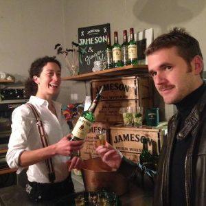 Rachel serving Whiskey, Rachel's Whiskey Appreciation Session, Irish Whiskey Tasting