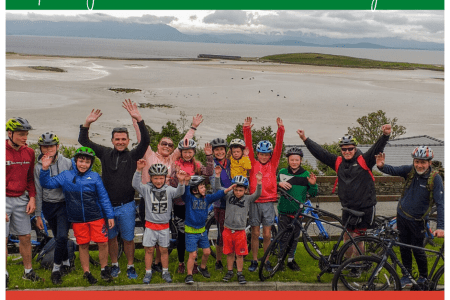 Cycling Mayo's greenway with the whole family