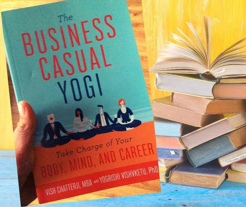 Photo of the business casual yogi book