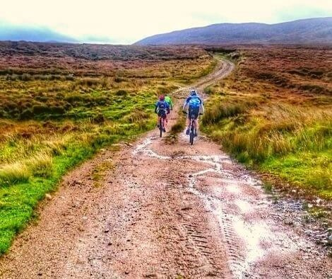 Mountain biking in Ireland