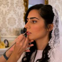 Rachel's make up-wedding