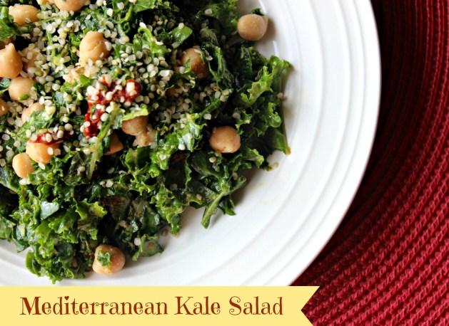 Med Kale Salad
