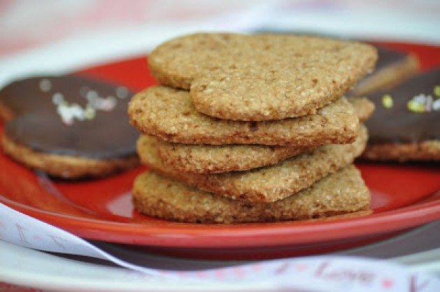 oat heart cookies71