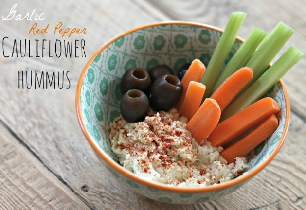 garlic-red-pepper-cauliflower-hummus