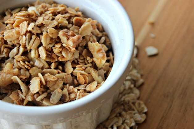 granola closeup