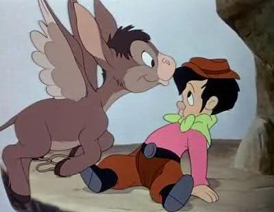 flyign donkey