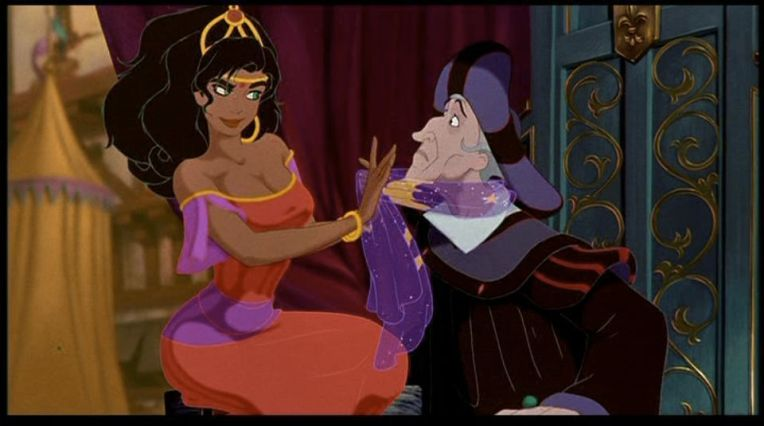 esmerelda and frollo