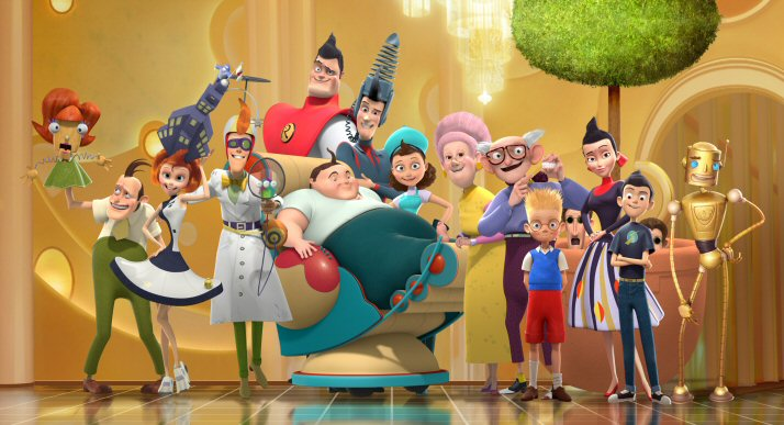 Meet The Robinsons Disney Robinson Family