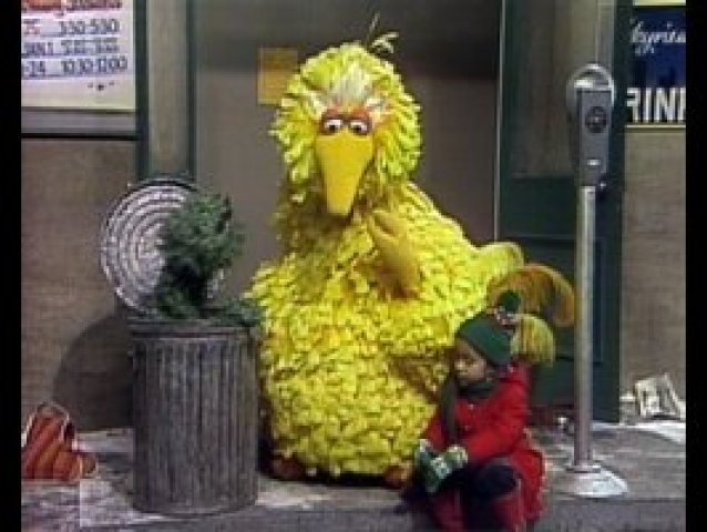 big bird oscar