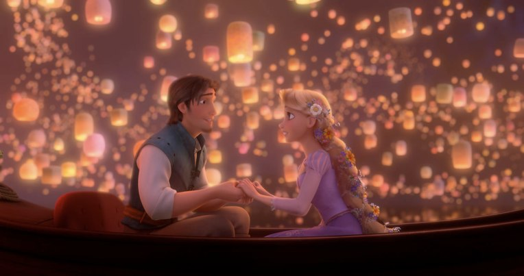 tangled flynn and rapunzel