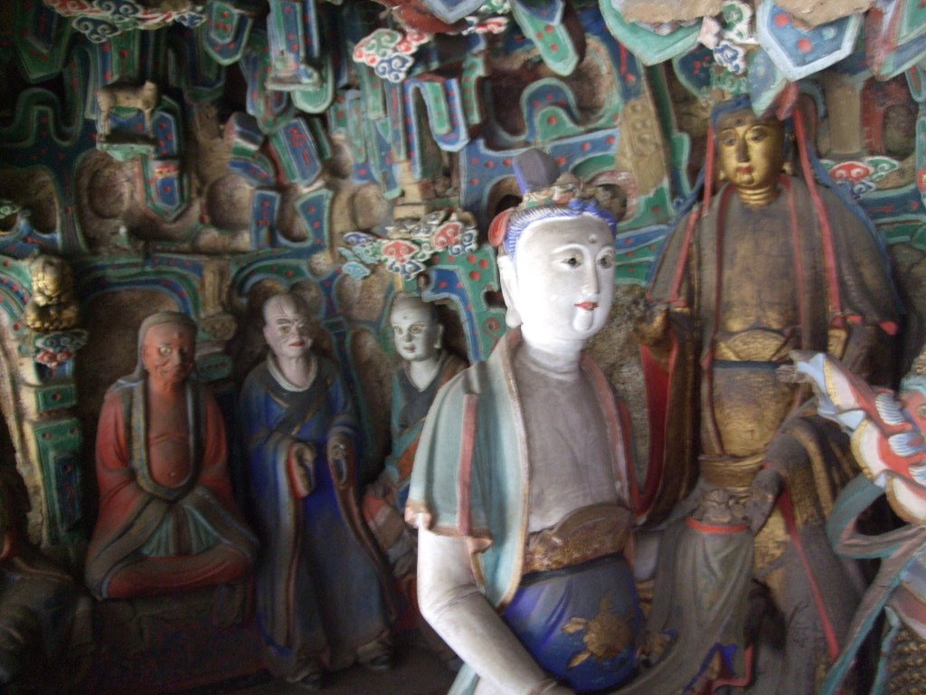 images in the hanging monastery
