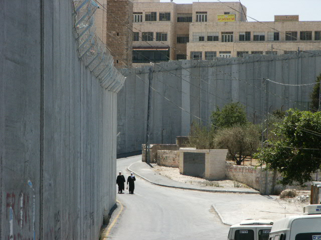 I took this picture of the wall between the West Bank and Israel proper back in 2006.