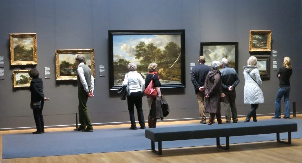 The Gallery of Honour displays the highlights of the Rijksmuseum.