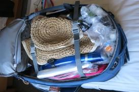 full backpack interior