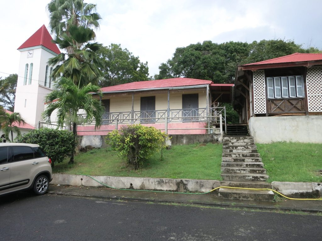 """view of the fictional police station in """"Death in Paradise"""""""