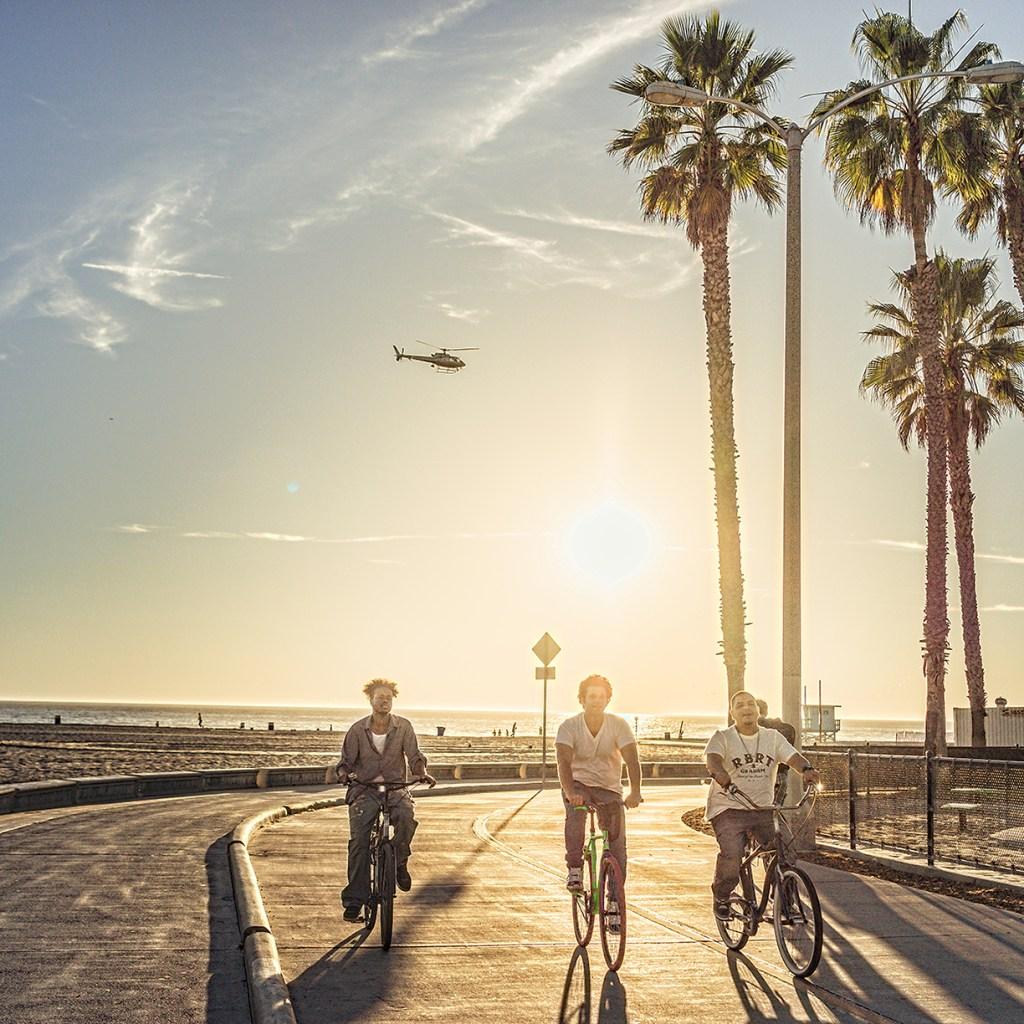 biking along the coast a bit north of Marina Del Rey in Venice Beach. Photo by Robert M. via Trover.com