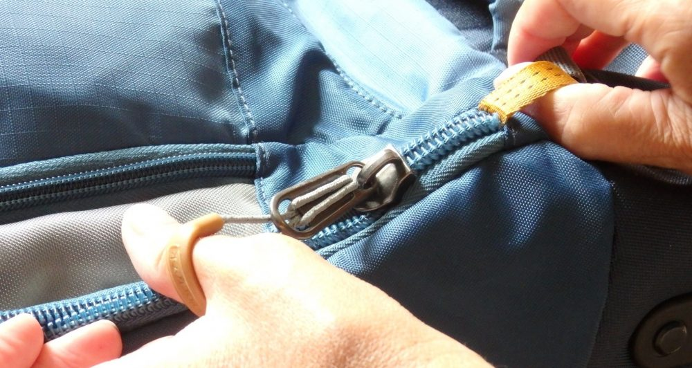The zipper pull on my Eagle Creek backpack