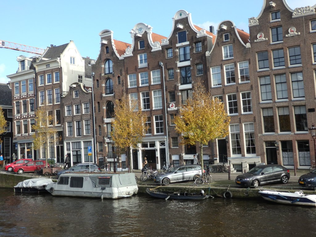 houses on the Prinsengracht