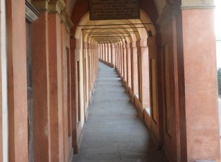 Walking the Portico di San Luca in Bologna