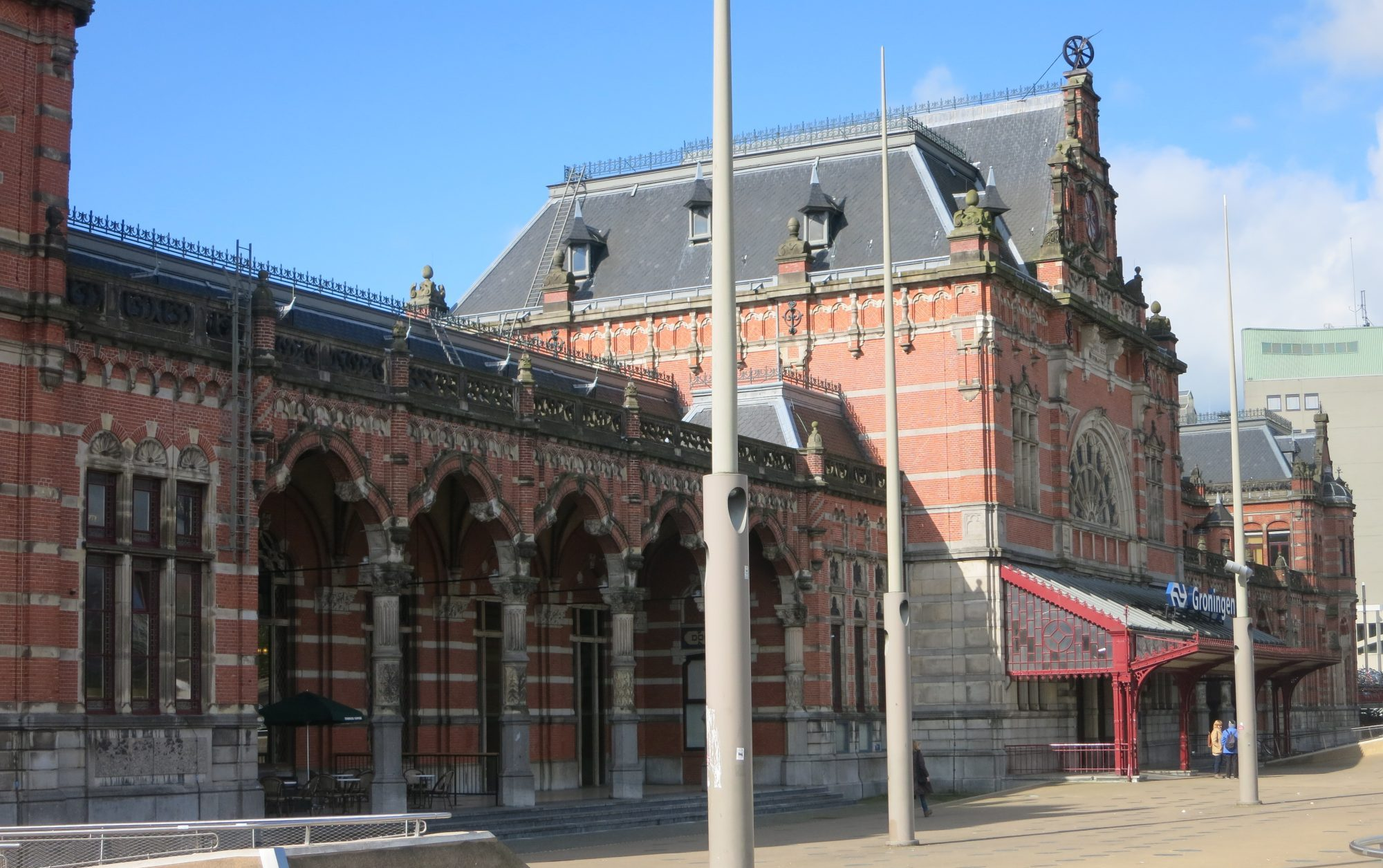 Groningen central train station