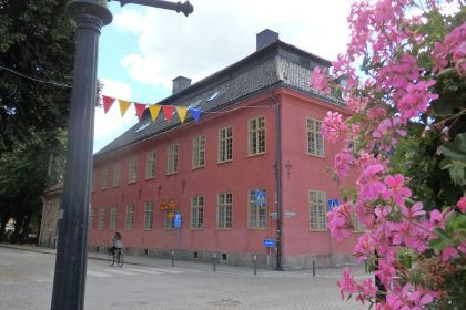 in the center of Nyköping