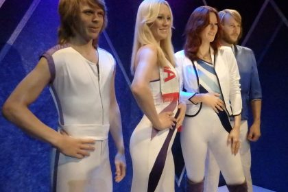 ABBA, or rather, wax figures of them.