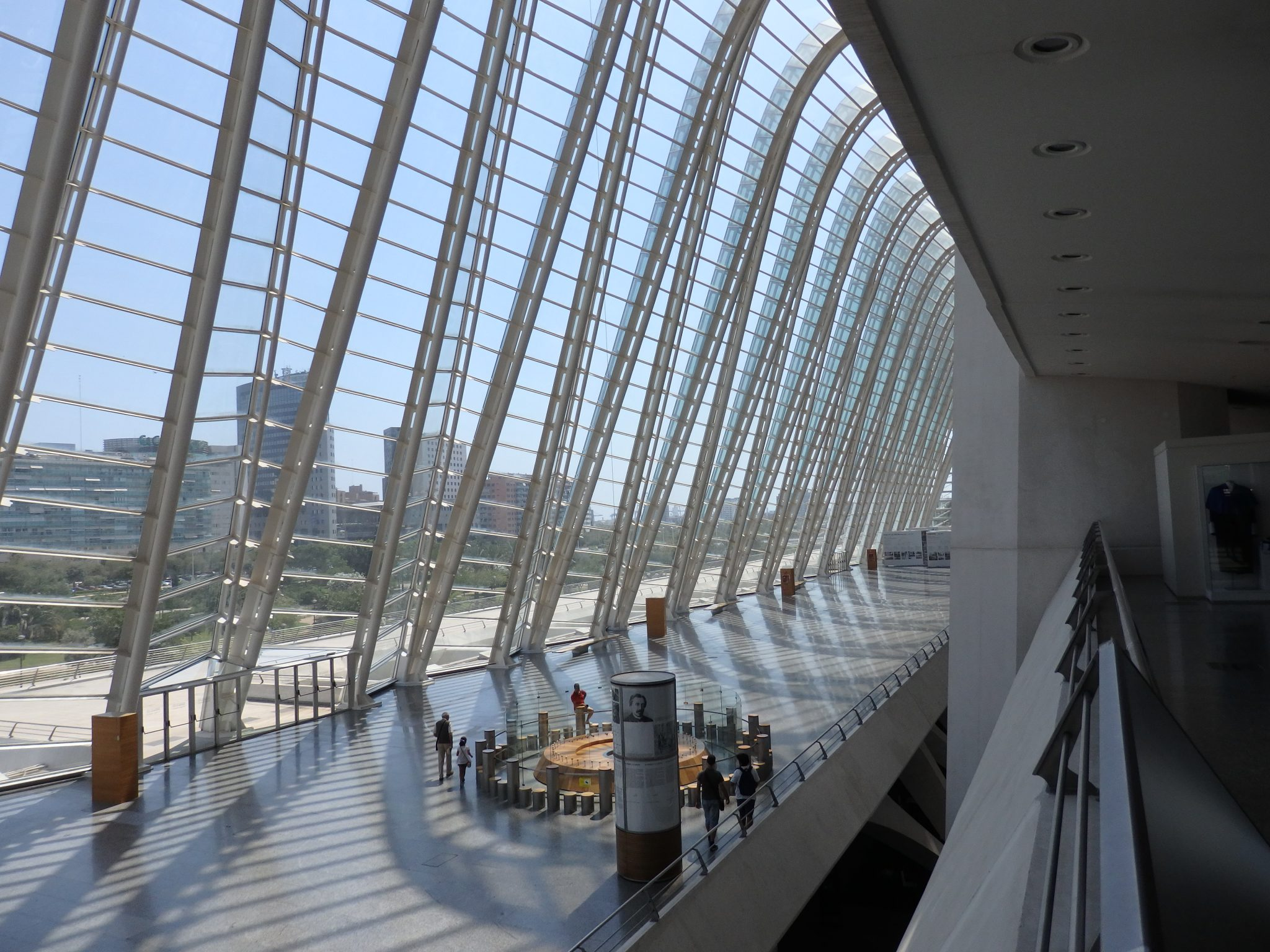 inside the Museum of Science at the City of Arts and Sciences in Valencia, Spain