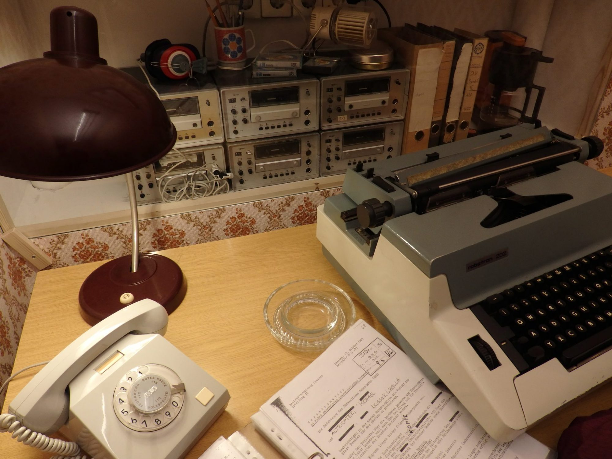 surveillance equipment in the DDR Museum in Berlin