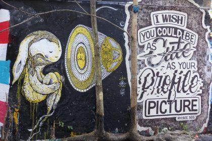 street art at Haus Schwarzenberg, Berlin