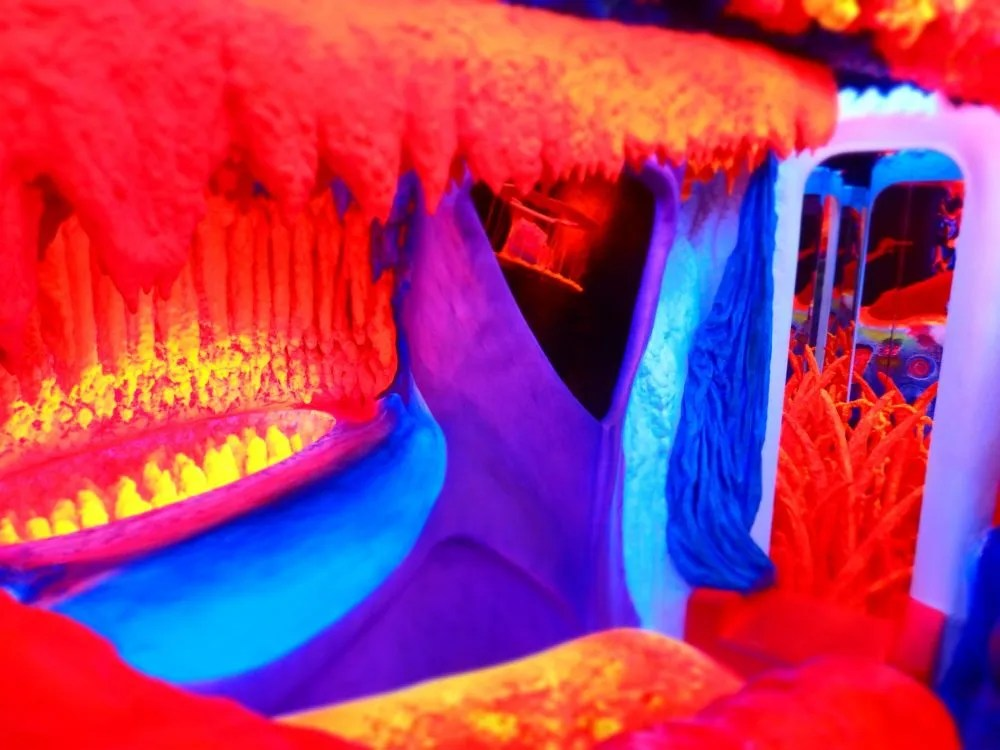 """Another angle on the """"environment"""" at Electric Ladyland in Amsterdam"""