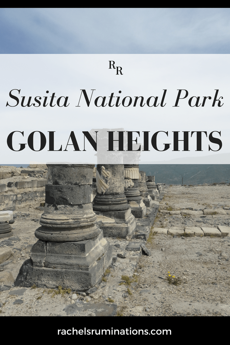 Susita holds the ruins of an extensive Roman town covering a large spur of hill in the Golan Heights, and includes a marvelously intact Roman road. #romanruins #romanhistory #visitisrael #golanheights #goisrael #c2cgroup via @rachelsruminations