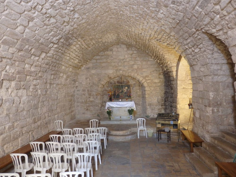 """The """"Synagogue Church"""" is one of many churches in Nazareth."""
