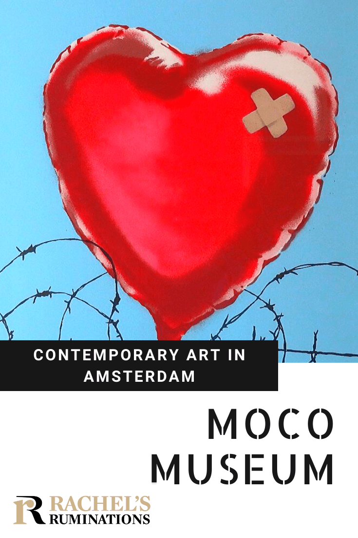 Read here about MOCO Museum, a little contemporary art museum in Amsterdam with an outstanding exhibition of Banksy works and other modern art. #moco #artmuseum #modernart #banksy #amsterdam via @rachelsruminations