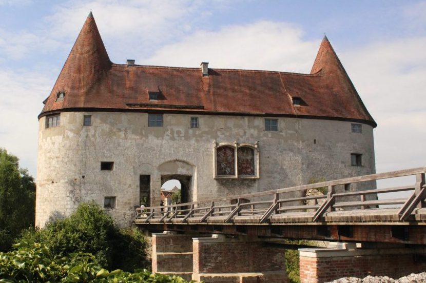 George's Gate at Burghausen Castle (photo courtesy Albert Smith)