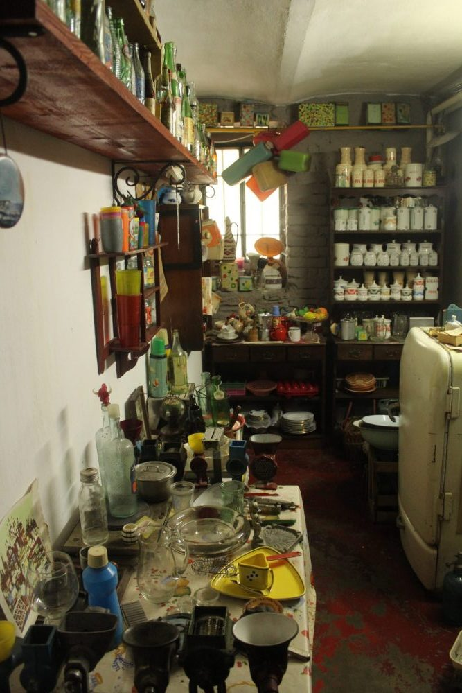 """The """"kitchen"""" at the Communist Consumers Museum"""