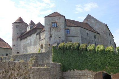 Another view of Burghausen Castle